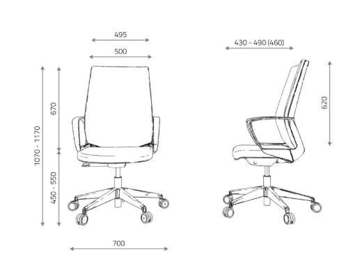 dane techniczne krzesło maverick