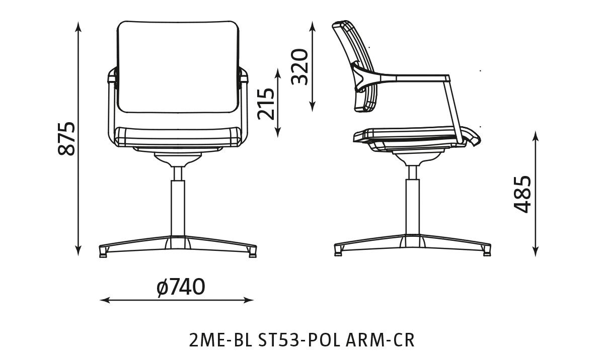 dane techniczne 2me-bl st53-pol arm cr